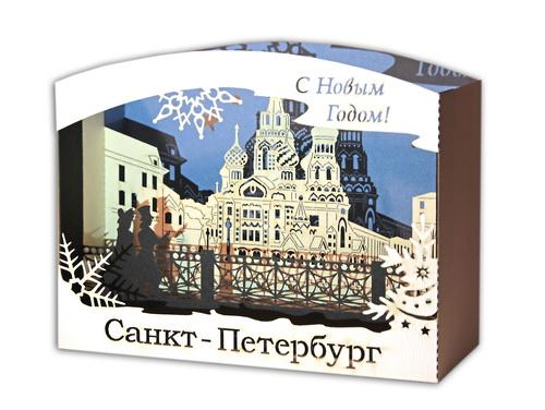 Объемная открытка в Новогоднем исполнении