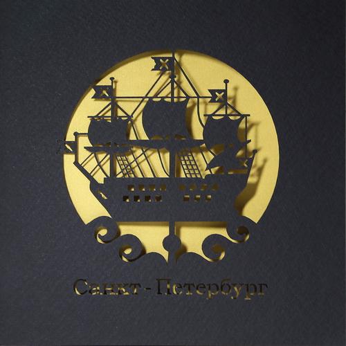 Кораблик на шпиле Адмиралтейства